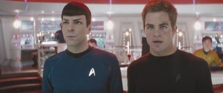 Spock (Zachary Quinto) und Kirk (Chris Pine) bestehen in jungen Jahren ihr erstes Abenteuer.   Quelle: Star Trek / Paramount