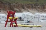 Wird zum Glück nicht gebraucht: Strandwächter-Zubehör
