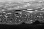 Das Wattenmeer ist auch in Schwarz-Weiß höchst beeindruckend.