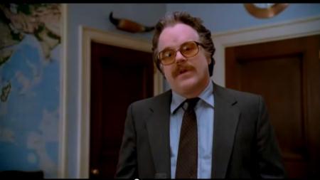 Gust Avrakotos ist schlauer, als er aussieht. Und Philip Seymour Hoffman der heimliche Star des Films | Charlie Wilson's War / Universal