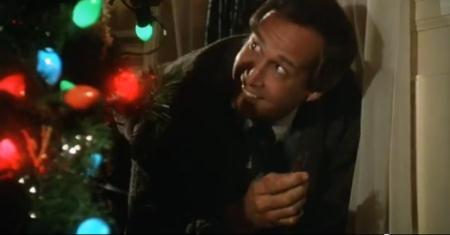 """Freude oder Irrsinn? So genau kann man das zu diesem Zeitpunkt des Weihnachtsfestes in Clarks Gesicht schon nicht mehr erkennen.   Quelle: """"Christmas Vacation"""" Trailer / Warner"""